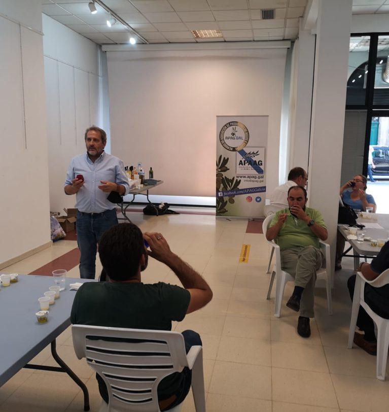 A Asociación de Produtores de Aceite e Aceituna de Galicia valora moi positivamente as actividades de formación desenvolvidas durante o mes de setembro